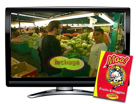 Moo!™ Fruits and Veggies Spanish Video Download