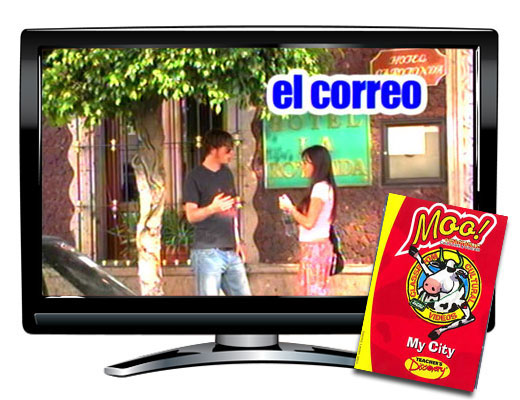 Moo!™ My City Spanish Video