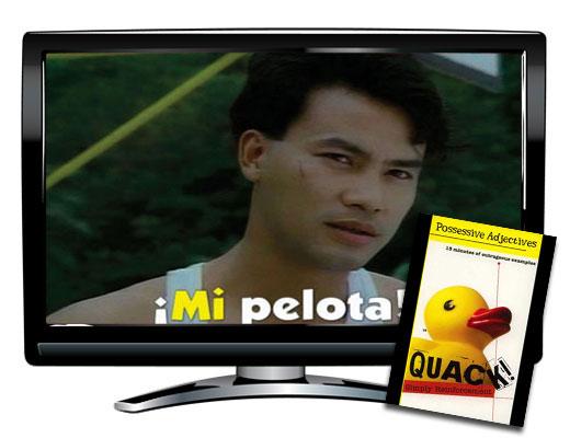 Quack!™ Possessive Adjectives Spanish Video