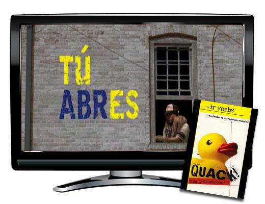 Quack!™ -IR Verbs Spanish Video