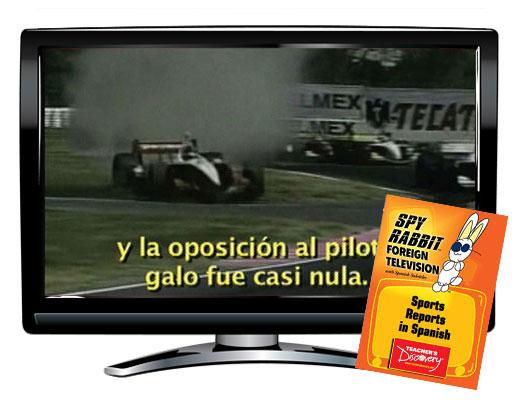 Spy Rabbit!™ Sports Reports in Spanish Video