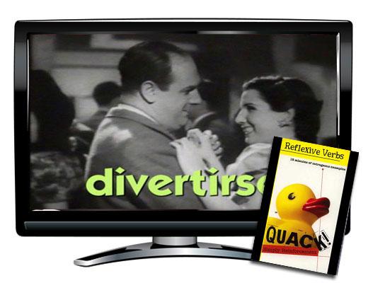 Quack!™ Reflexive Verbs Spanish Video