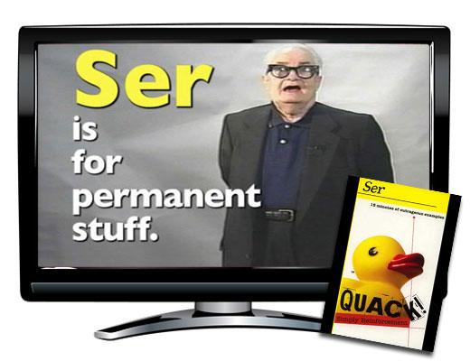 Quack!™ Ser Spanish Video