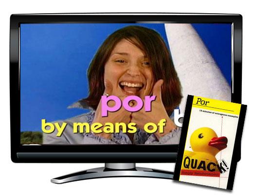 Quack!™ Por Spanish Video