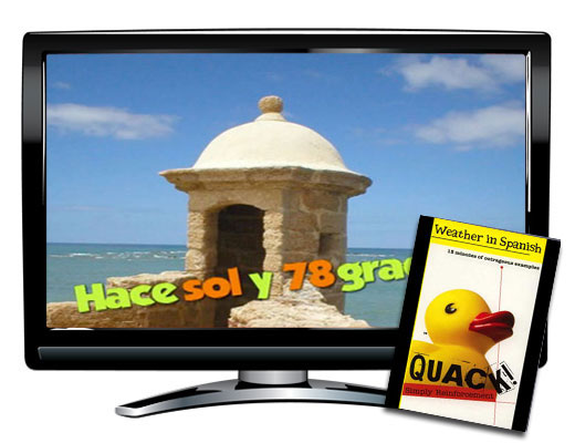 Quack!™ Weather Spanish Video