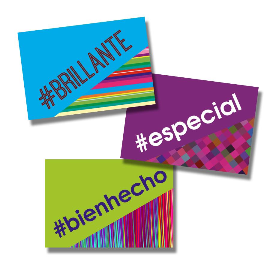Hashtag Spanish Stickers (60)
