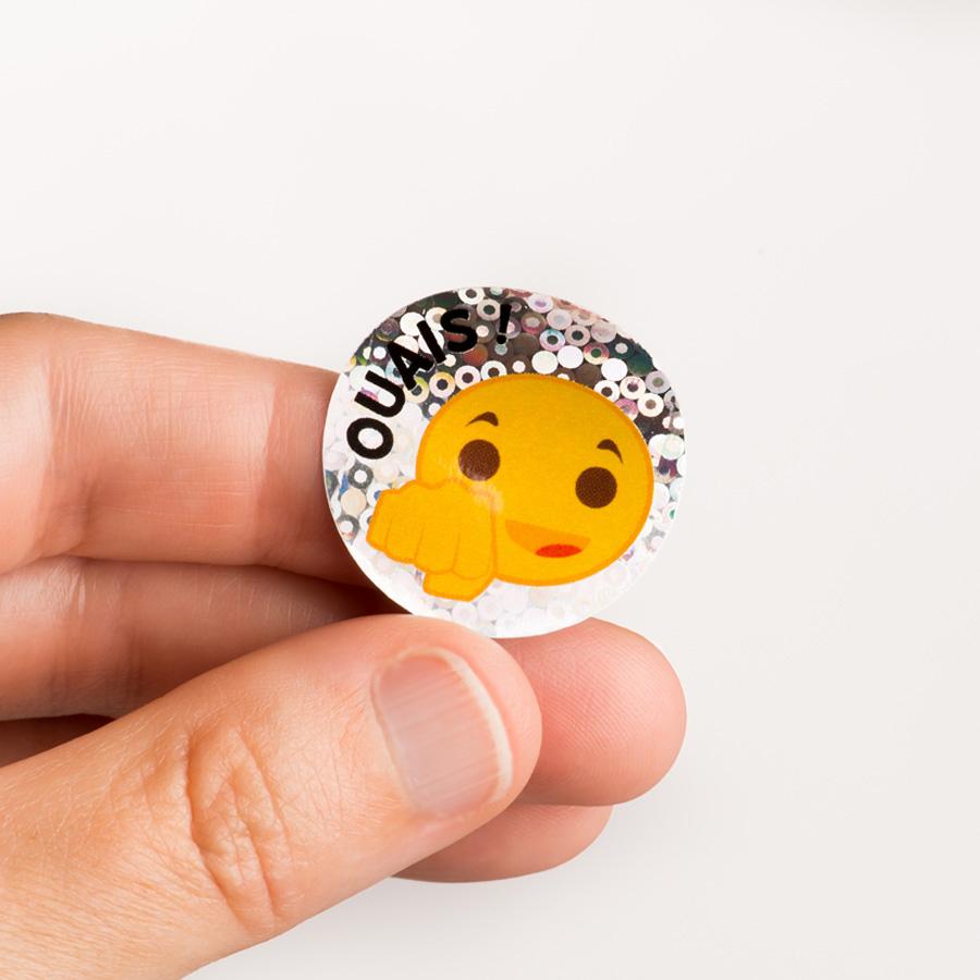 Emoji French Stickers (100)
