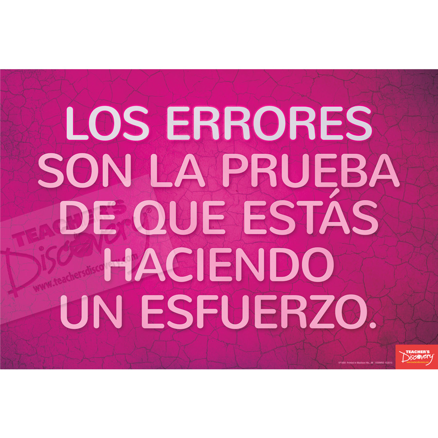 Proof Spanish Mini-Poster