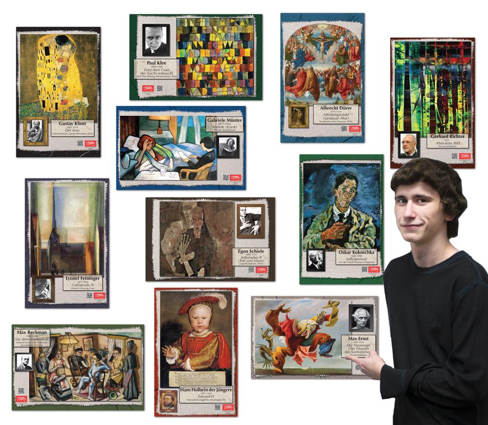 Die germanischen Künstler Bulletin Board Set