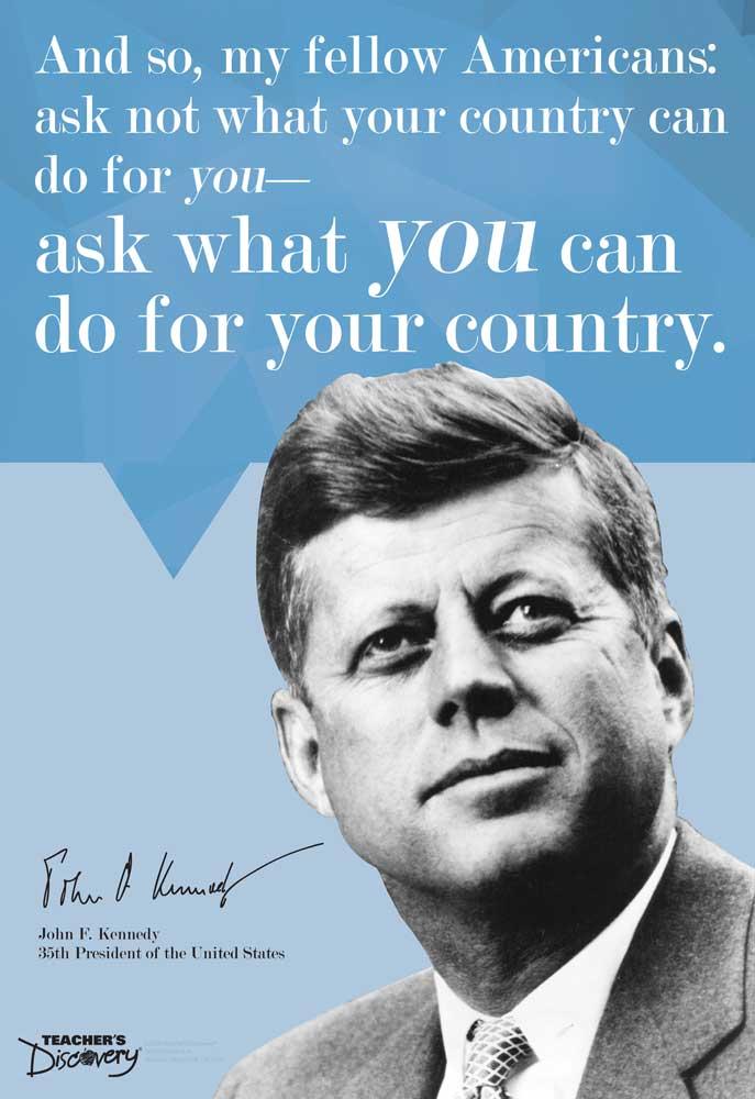 JFK On Leadership Mini-Poster