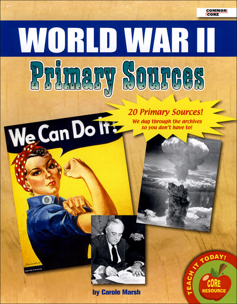 World War II Primary Sources Pack