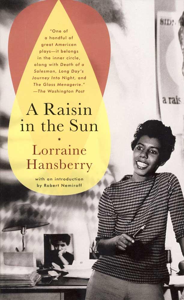 A Raisin in the Sun Paperback Book (NP)