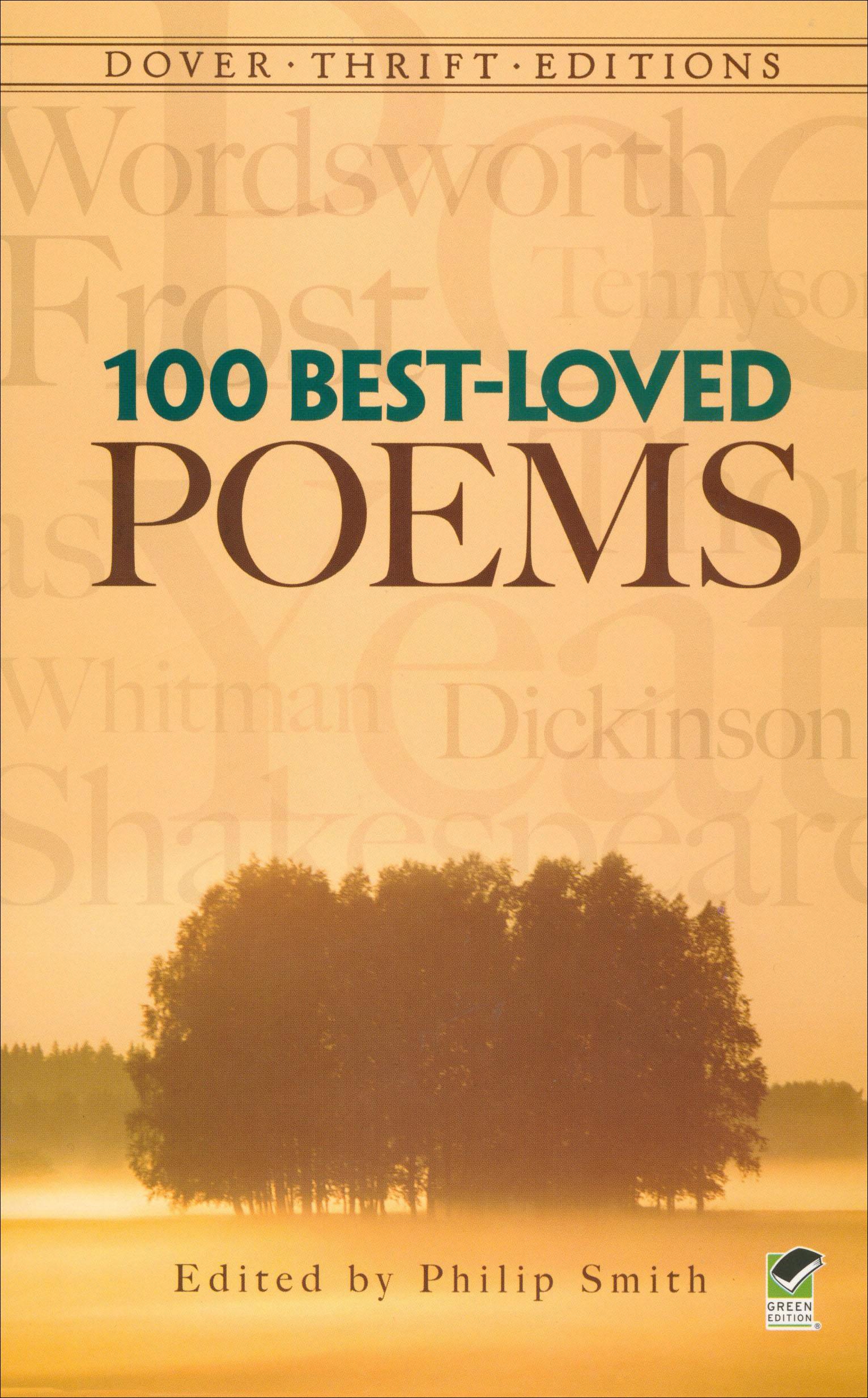 100 Best Loved Poems Paperback Book (NP)