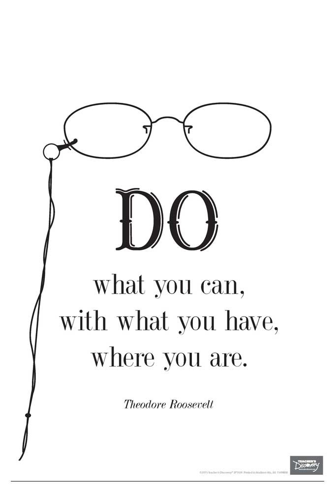 Do What You Can Mini-Poster