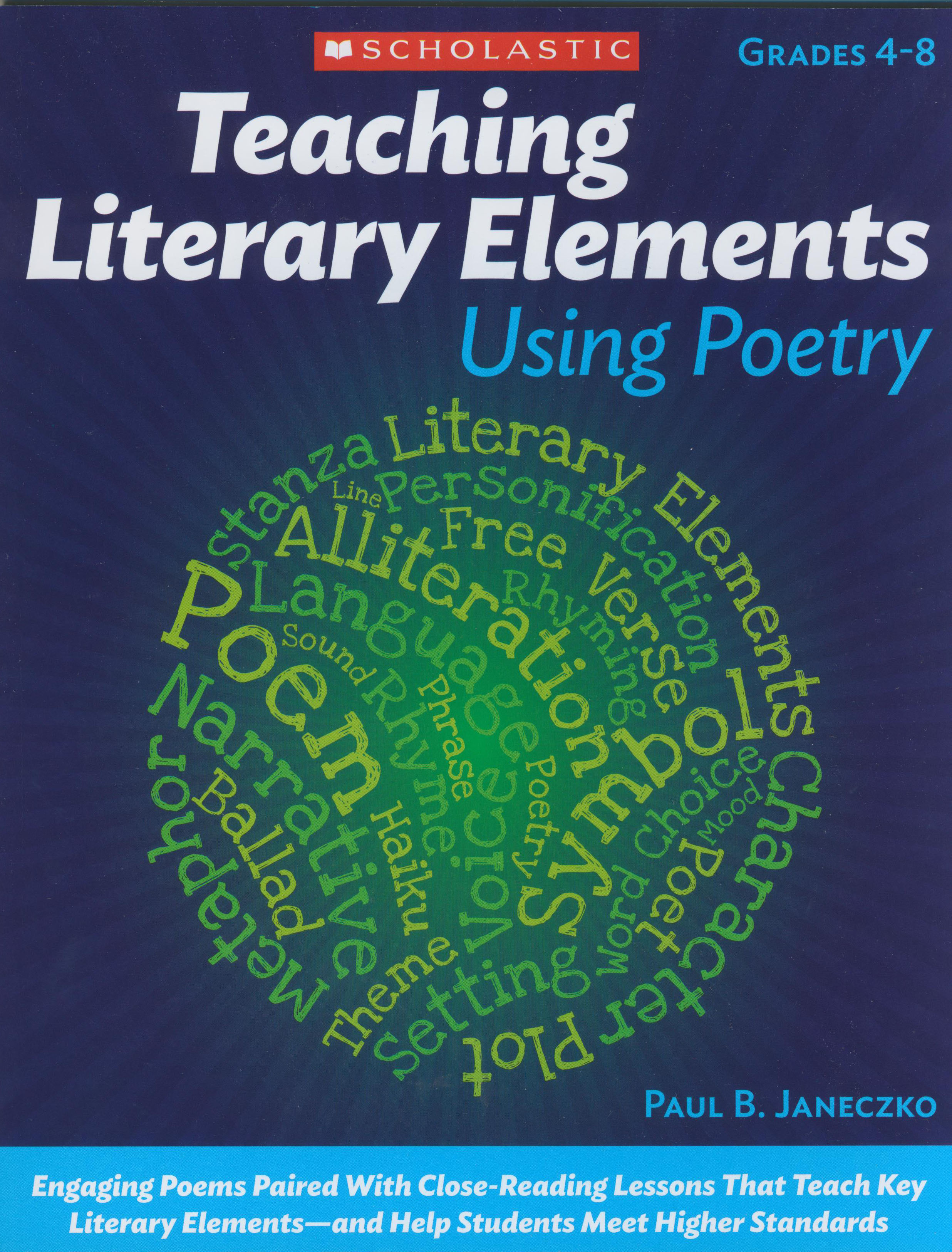 Teaching Literary Elements Using Poetry Reproducible Book