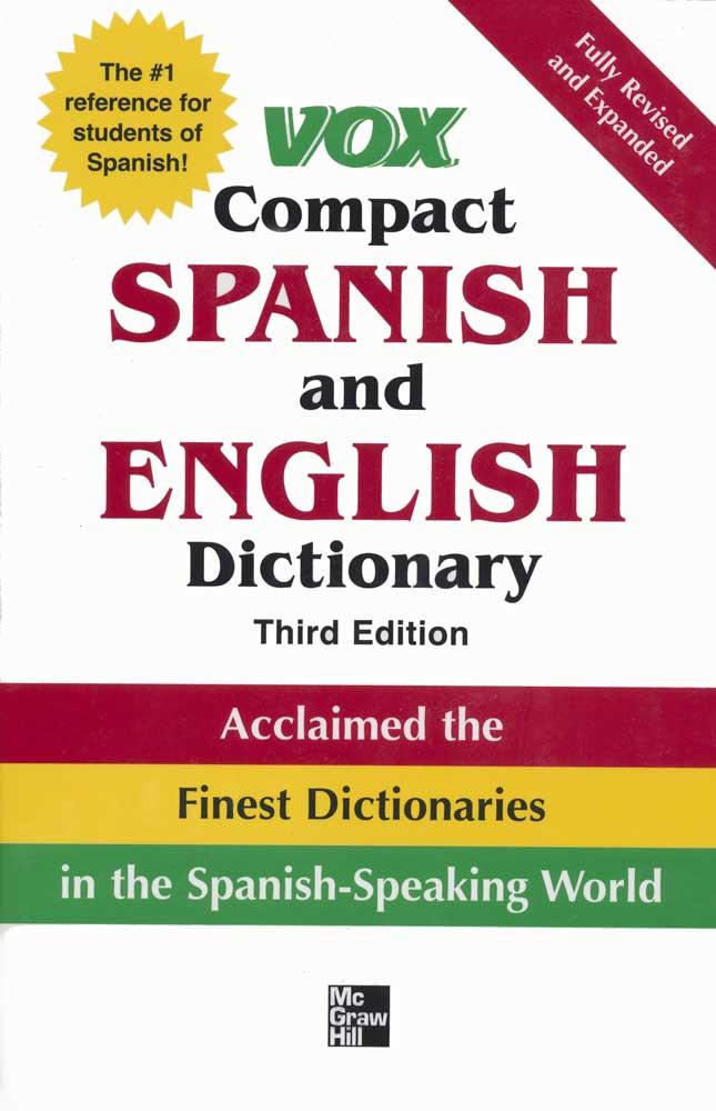 VOX Spanish Compact Softbound Dictionary