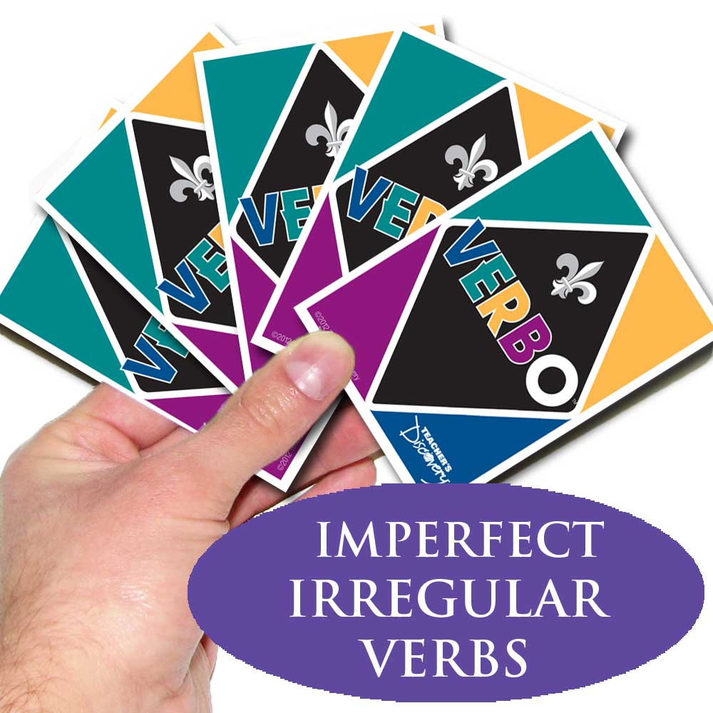 Verbo™ French Card Game Imperfect Tense Irregular Verbs