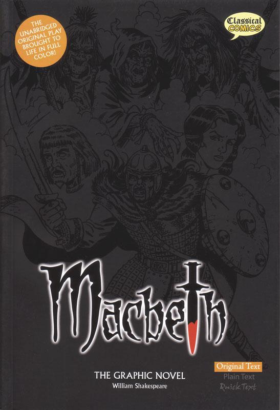 Macbeth Classical Comics Original Text (700L)