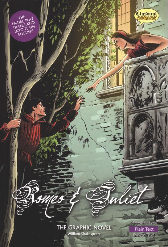Romeo and Juliet Classical Comics Plain Text (600L)
