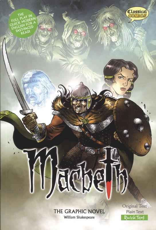 Macbeth Classical Comics Quick Text (280L)
