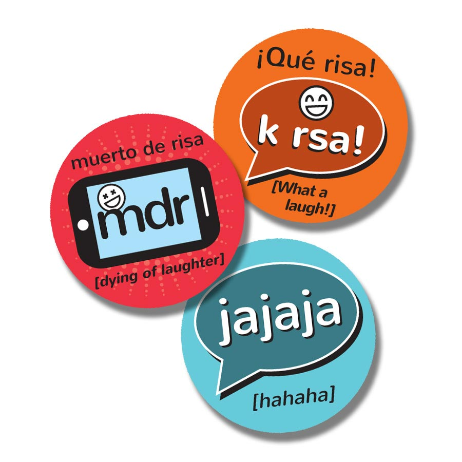TXT MSG Spanish Stickers