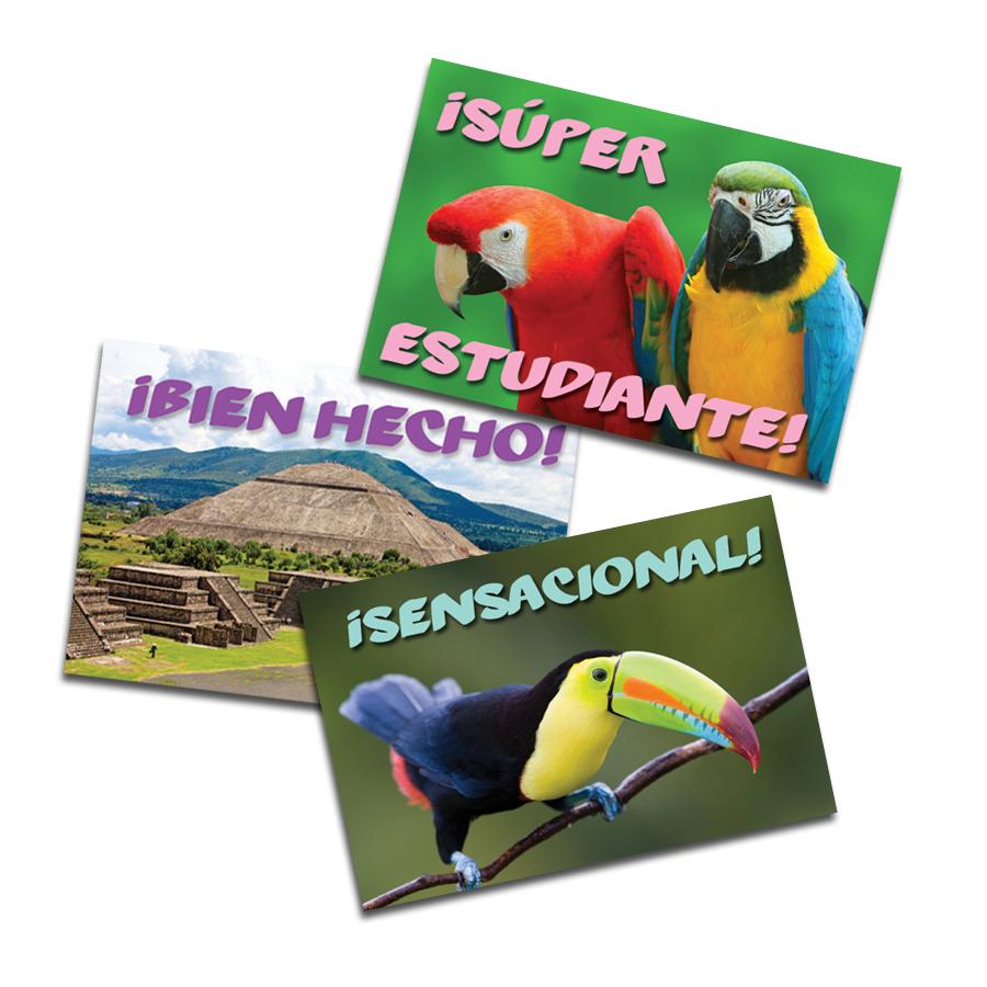 Sights of Latin America Spanish Stickers (60)