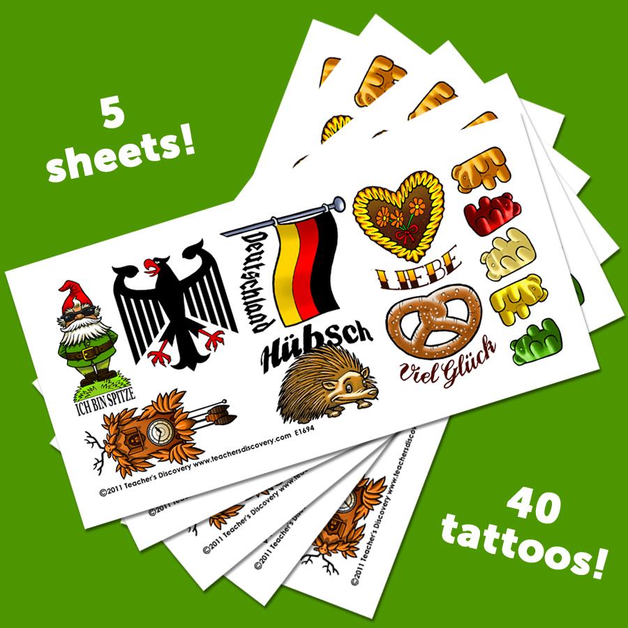 Temporary German Tattoos (40)