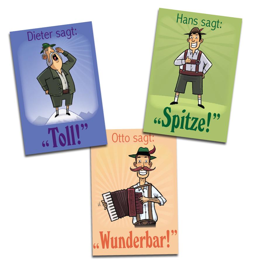 Dieter & Friends German Stickers (60)