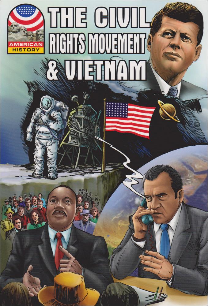 Civil Rights Movement and Vietnam Graphic Novel