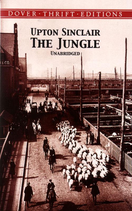 The Jungle Paperback Book (1170L)