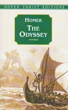 The Odyssey Paperback Book (1050L)