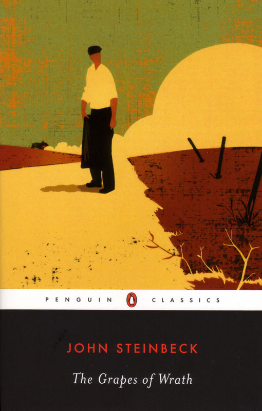The Grapes Of Wrath Paperback Book (680L)