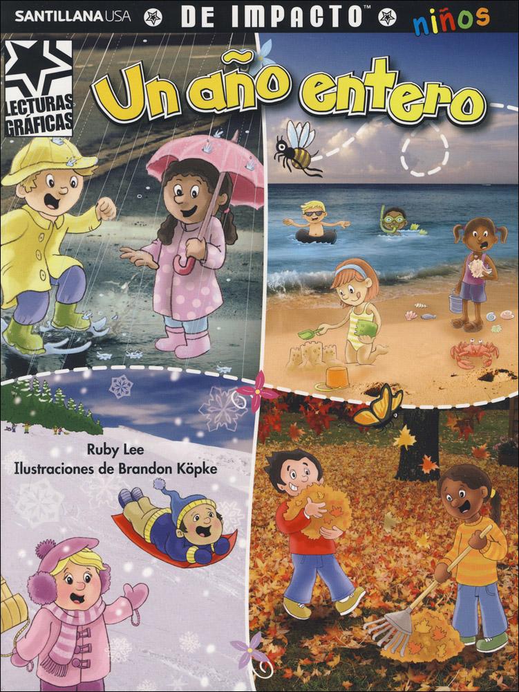 Un año entero Spanish Graphic Reader