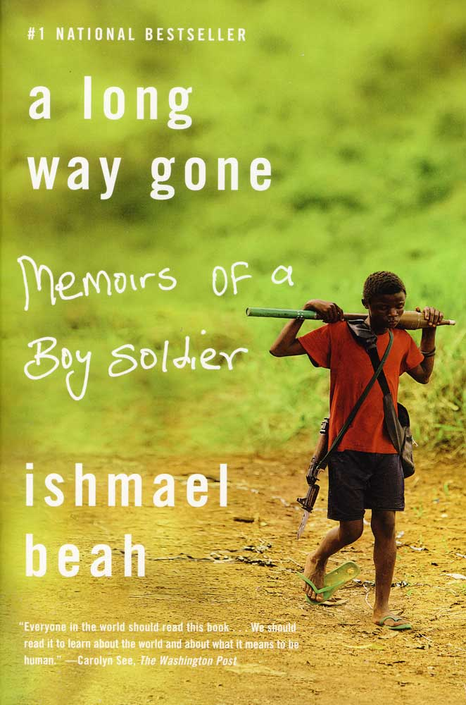A Long Way Gone Memoirs of a Boy Soldier Paperback Book (920L)