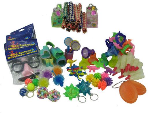 Bag of Toys (Piñata Filler) 100 Pieces