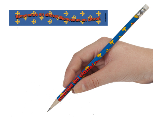 Welcome to Class French Enhanced® Pencils