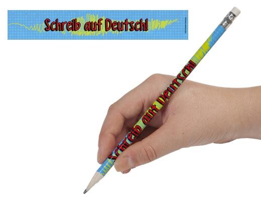 Write It In German Enhanced® Pencils