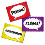 Speech Bubbles German Stickers (60)