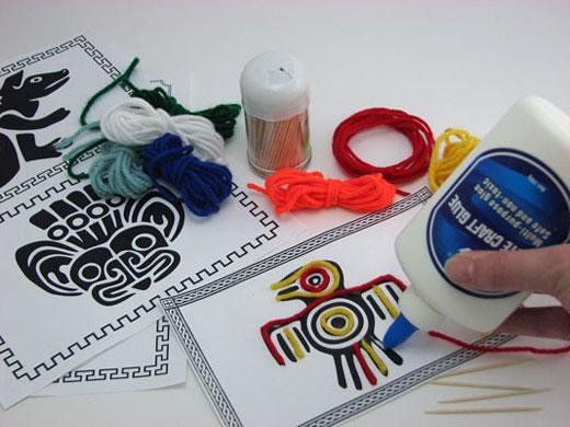 Mexican Yarn Art Kit