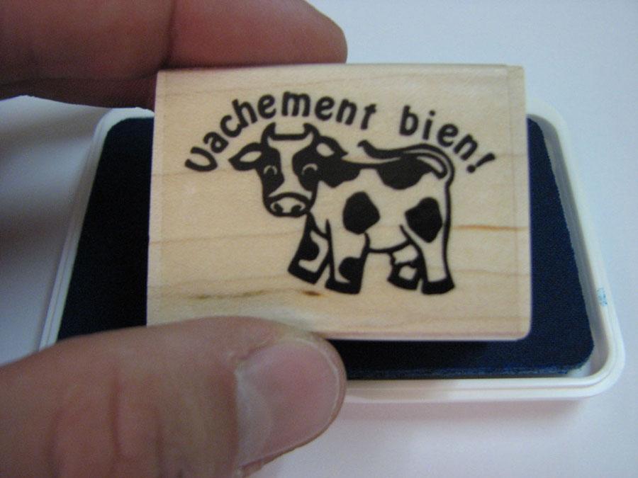 Vachement bien ! French Stamper