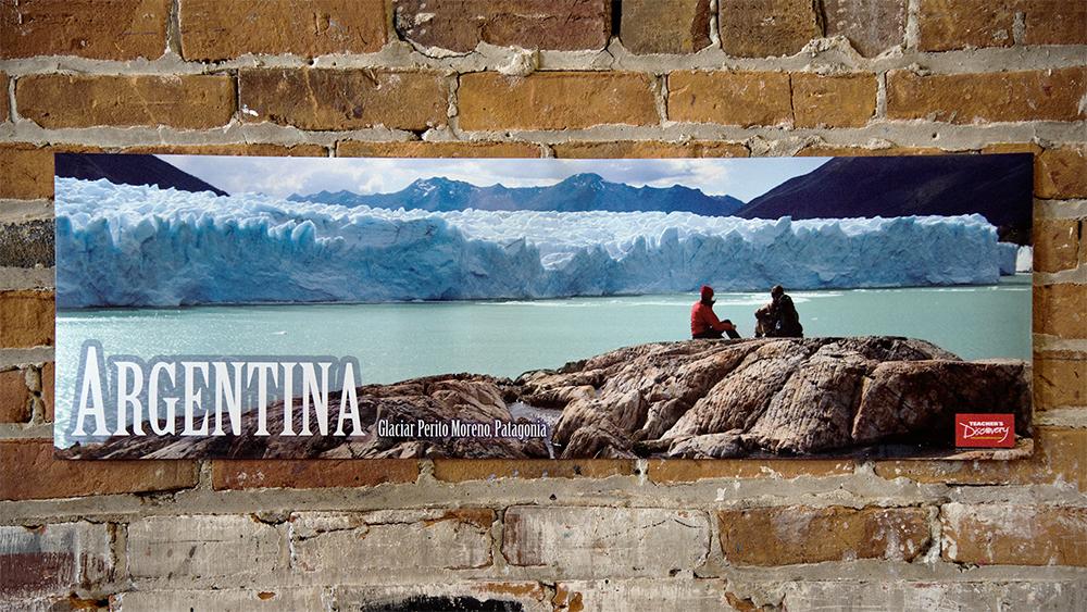 Argentina Panoramic Spanish Poster