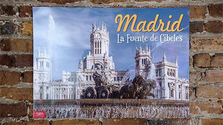 Madrid Spanish Travel Poster