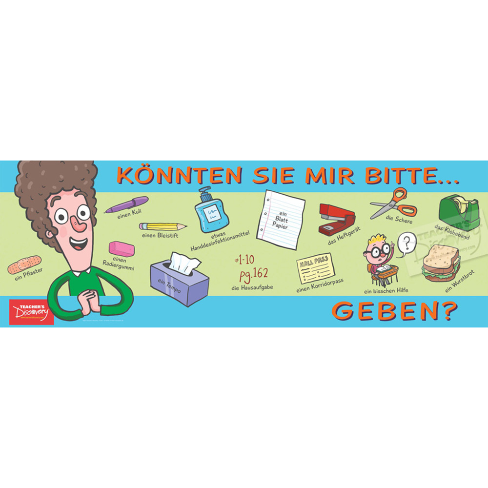 Ask For It in German Poster