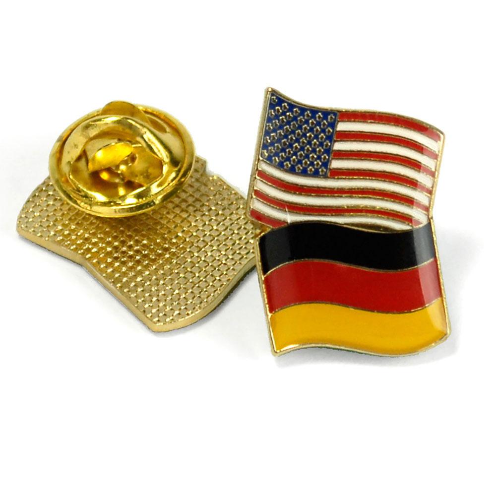Germany/USA Flag Enhanced® Pin