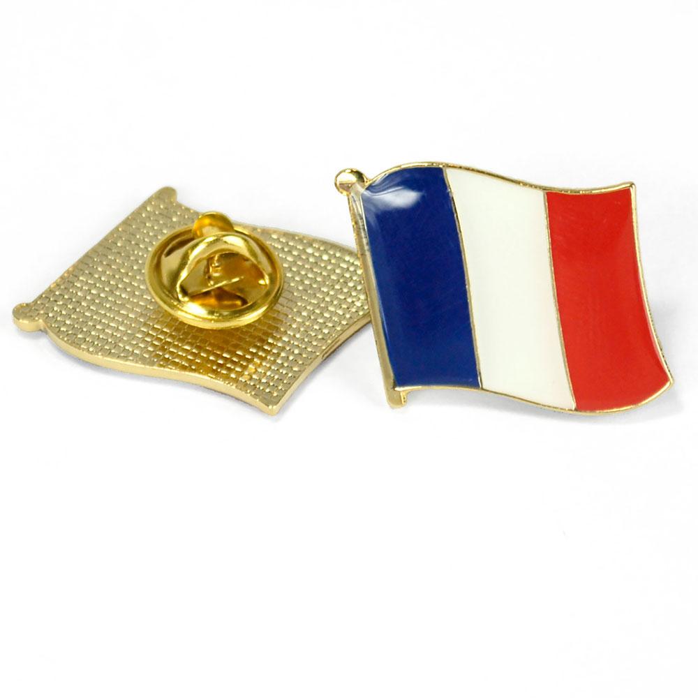 France Flag Enhanced® Pin