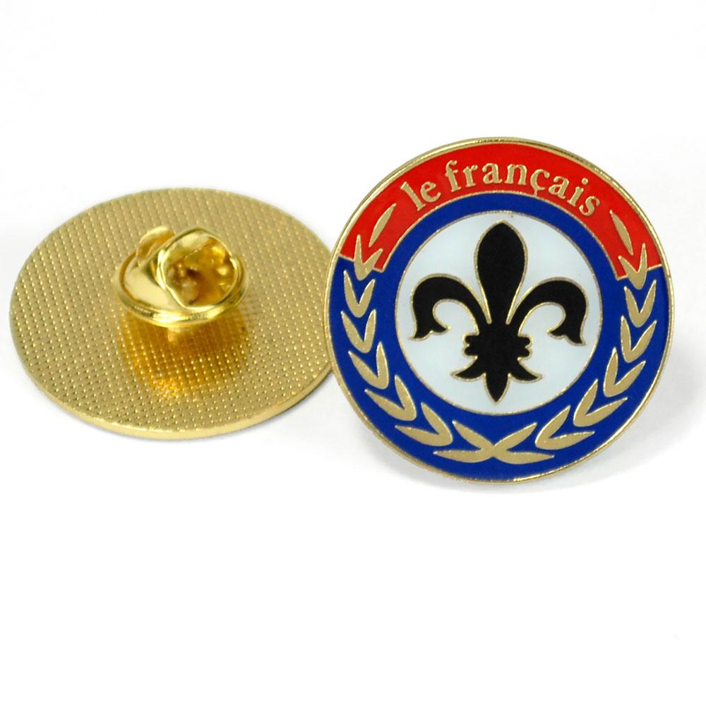 Fleur-De-Lis Enhanced® Pin