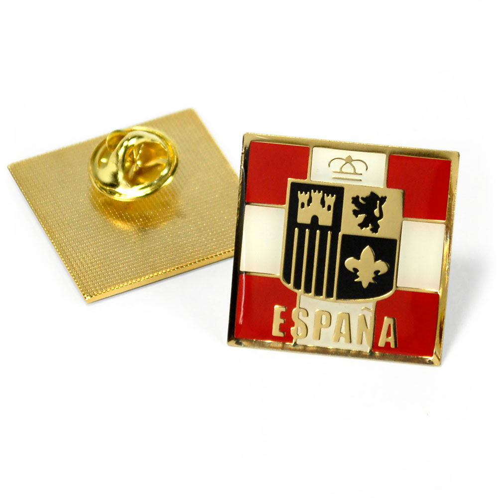 Spain Nation Enhanced® Pin