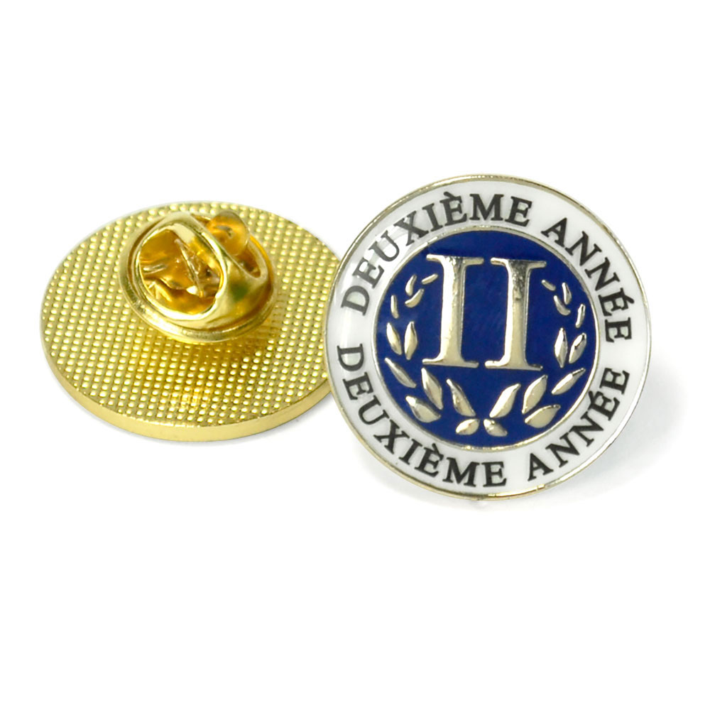 French Second-Year Enhanced® Pin