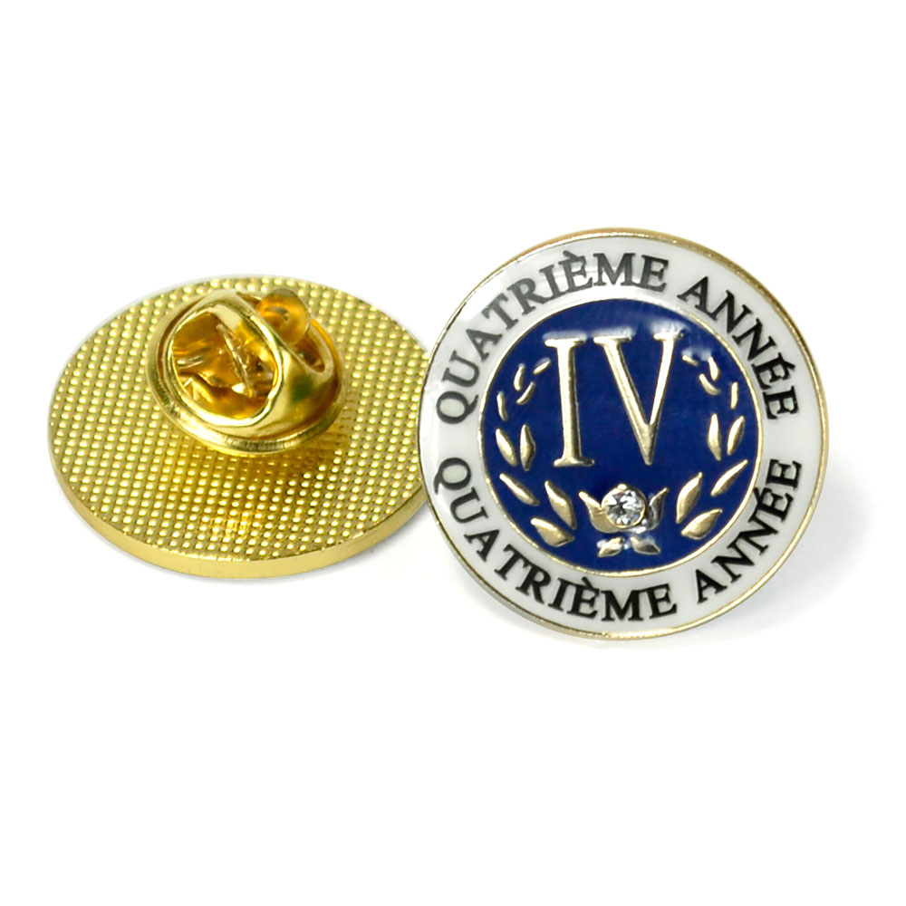 French Fourth-Year Enhanced® Pin