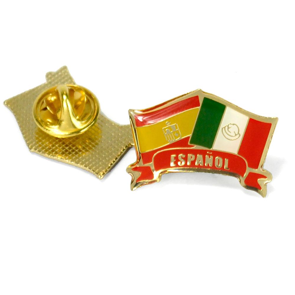 Español Flags Enhanced® Pin